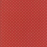 Moda Fabrics ~ Farmhouse Reds ~ Dots on Dots Red