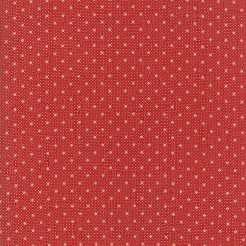 Moda Fabrics ~ Farmhouse Reds ~ Dots on Dots Red