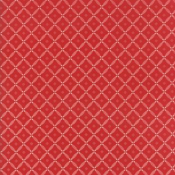 Moda Fabrics ~ Farmhouse Reds ~ Lattice Red
