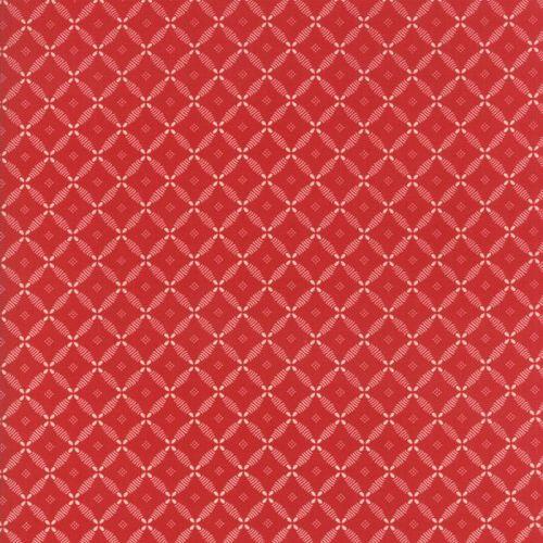 Moda Fabrics ~ Farmhouse Reds ~ Lattice Red