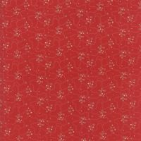 Moda Fabrics ~ Farmhouse Reds ~ Meandering Dots Red