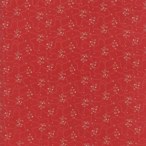 Moda Fabrics ~ Farmhouse Reds ~ Meandering Dots Red