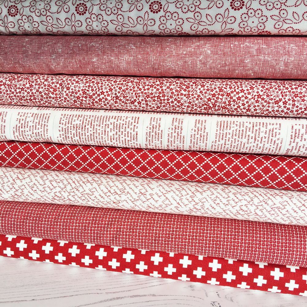 Moda Fabric ~ Project Red
