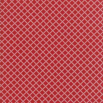 Moda Fabric ~ Project Red ~ Irish Chain