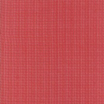 Moda Fabric ~ Project Red ~ Square Dot
