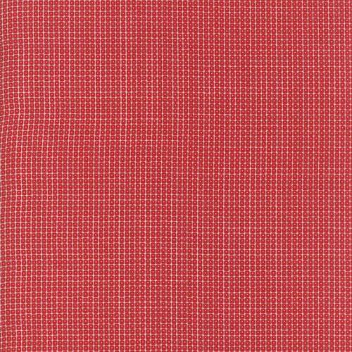 Moda Fabric ~ Project Red ~ Square Dot