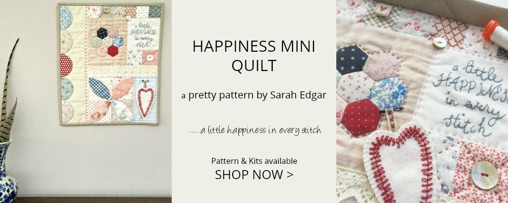 Happiness Mini Quilt Home