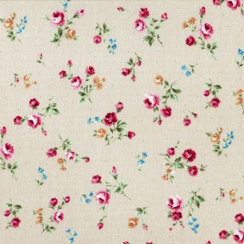 Lecien Fabric ~ Flower Fields ~ Posies Cream