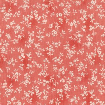 Lecien Fabric ~ Flower Fields ~ Tonal Floral Pink