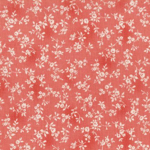 Lecien Fabric ~ Flower Fields ~ Tonal Floral Pink