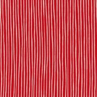 Lecien Fabric ~ L's Modern Basics ~ Rough Stripe Red