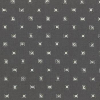 Lecien Fabric ~ L's Modern Basics ~ Squares Charcoal