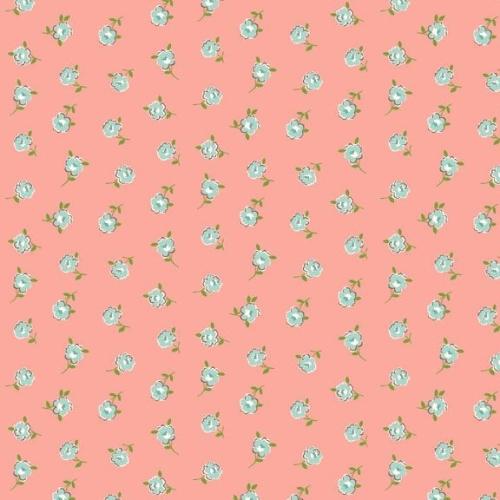Makower ~ Katie Jane ~ Rose Pink