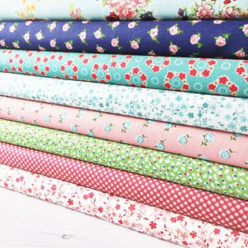 Makower ~ Fat Quarter Bundle ~ Katie Jane