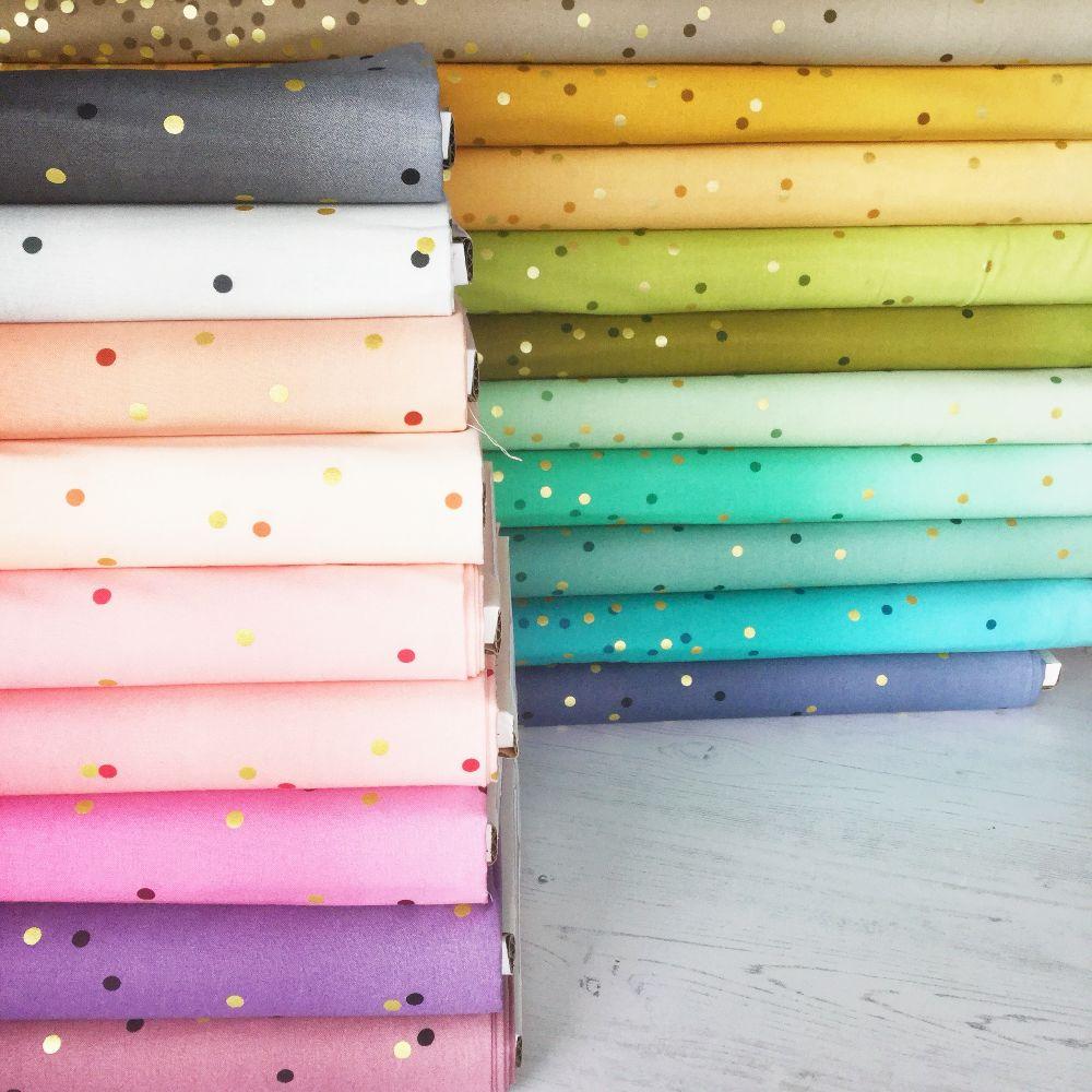 Moda Fabric ~ Ombre Metallic Confetti