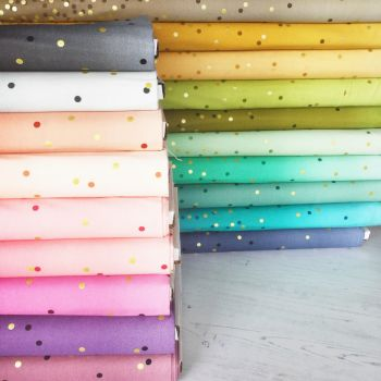 Moda Fabric ~ Full Collection Bundle ~ Ombre Metallic Confetti