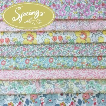 Liberty of London Tana Lawn ~ Fat Eighth Bundle ~ Seasons Spring