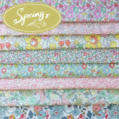 Liberty of London Tana Lawn ~ Fat Eighth Bundle ~ Spring
