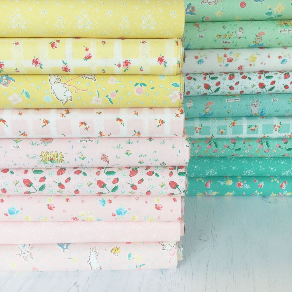 Penny Rose Fabrics ~ Bunnies & Blossoms