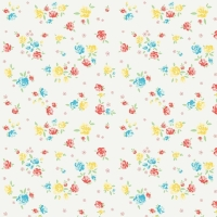 Penny Rose Fabrics ~ Bunnies & Blossoms ~ Blossoms Cream