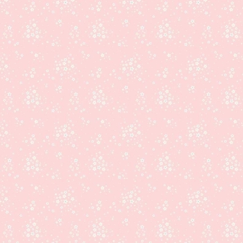 Penny Rose Fabrics ~ Bunnies & Blossoms ~ Floral Pink