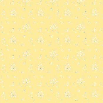 Penny Rose Fabrics ~ Bunnies & Blossoms ~ Floral Yellow