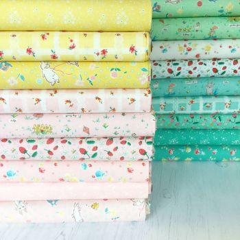Penny Rose Fabrics ~ Fat Quarter Bundle ~ Bunnies & Blossoms