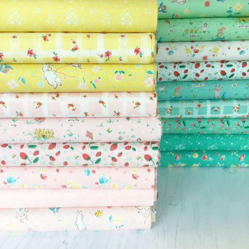 Penny Rose Fabrics ~ Fat Quarter Bundle ~ Bunnies & Blossoms