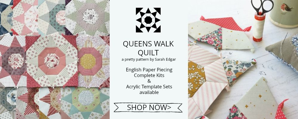 Queens Walk Quilt Front Page