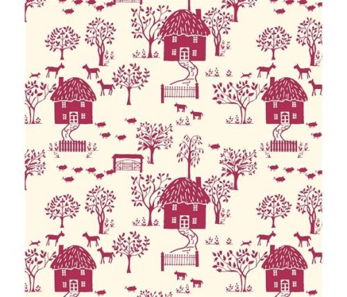 Liberty of London ~ The Cottage Garden ~ Cottage Lane  616X