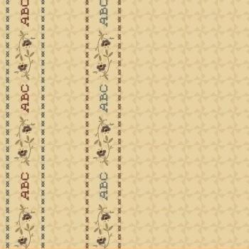 Windham Fabrics ~ Pauline ~ ABC Border Cream