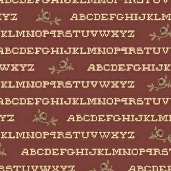 Windham Fabrics ~ Pauline ~ Alphabet Red