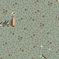 Windham Fabrics ~ Pauline ~ Country Girl and Geese Blue