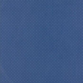 Moda Fabrics ~ Provencal ~ Pin Dot Blue