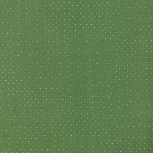 Moda Fabrics ~ Provencal ~ Pin Dot Green