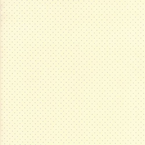 Moda Fabrics ~ Provencal ~ Pin Dot Navy on Ivory