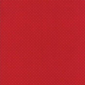 Moda Fabrics ~ Provencal ~ Pin Dot Red
