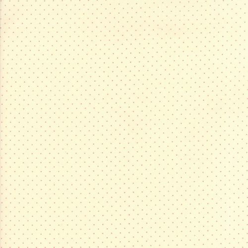 Moda Fabrics ~ Provencal ~ Pin Dot Red on Ivory