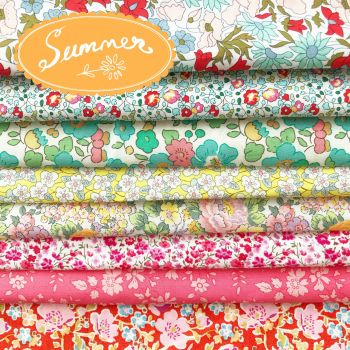 Liberty of London Tana Lawn ~ Fat Eighth Bundle ~ Seasons Summer
