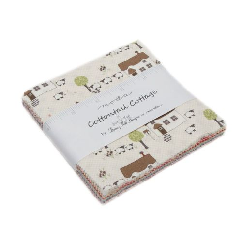 Moda Pre-cuts ~ Charm Pack ~ Cottontail Cottage