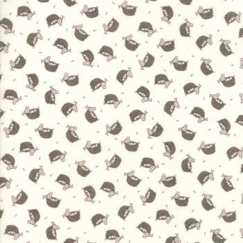 Moda Fabric ~ Cottontail Cottage ~ Nesting Cottontail White