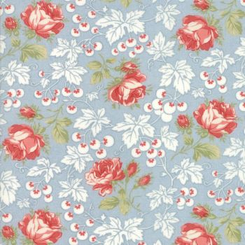 Moda Fabrics ~ Victoria ~ Kensington Garden Blue Eyes