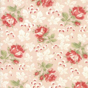 Moda Fabrics ~ Victoria ~ Kensington Garden Pink Ribbon