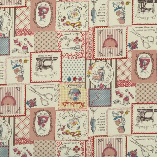 Lecien Fabric ~ Little Heroines ~ Craft Room Patchwork Pink