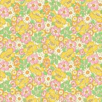 Henry Glass & Co ~ Nana Mae ~ Packed Floral Yellow