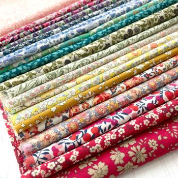 Liberty of London Tana Lawn ~ Fat Eighth Bundle ~ Colour Wheel