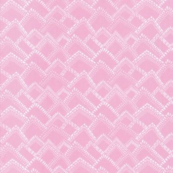 Moda Fabrics ~ Yucatan ~ Mountains Pink Mist