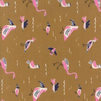 Moda Fabrics ~ Yucatan ~ Seabirds Earthenware