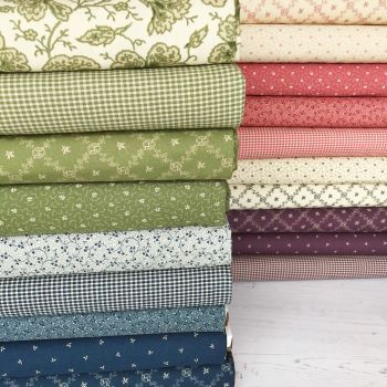 Moda Fabric ~ Fat Quarter Bundle ~ Evelyn's Homestead 1880-1900