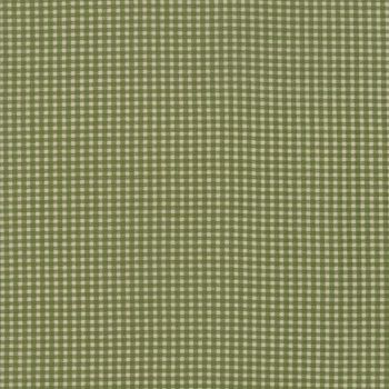 Moda Fabrics ~ Evelyn's Homestead 1880-1900 ~ Everyday Gingham Spring Leaf